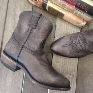Frye Billy Short Boots, smoke color. Fits size 6.5